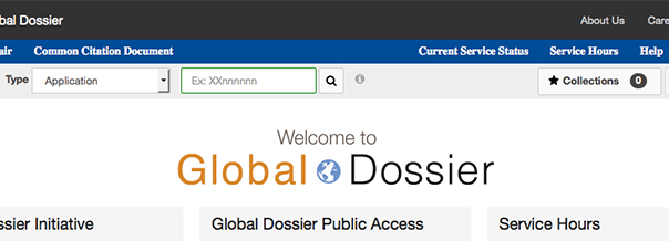 dossier access for global dossier initiative